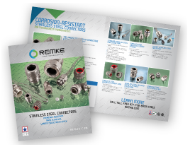 Remke brochure for stainless steel electrical connectors - Blog.Remke.com