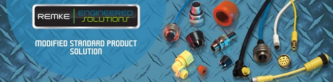 Custom Electrical Connectors Level 1 Engineered Solutions for Cord Grips and Cable Connectors by Remke
