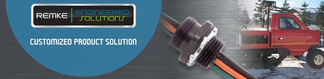 Custom cable connectors and cord grips manufacturing by Remke - Level 3 Engineered Solutions