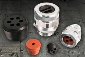 Multiple Hole Bushings for Cord Grips from Remke.