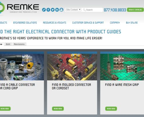 Find a Cable Connector from Remke Industries