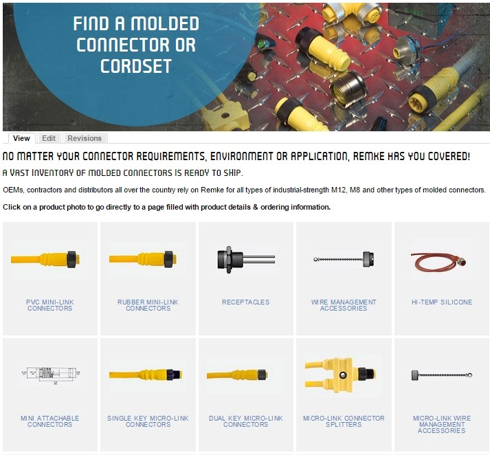 Find a Remke Connector - Molded Connectors, M12, M8 and More