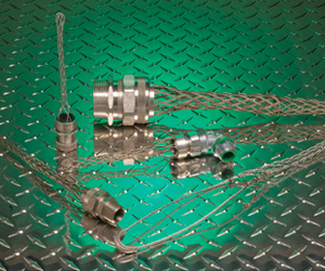 Remke wire mesh grips, wire grips and cable support grips for securing vertical cable runs, bending and flexing applications and cable pulling. Remke.com