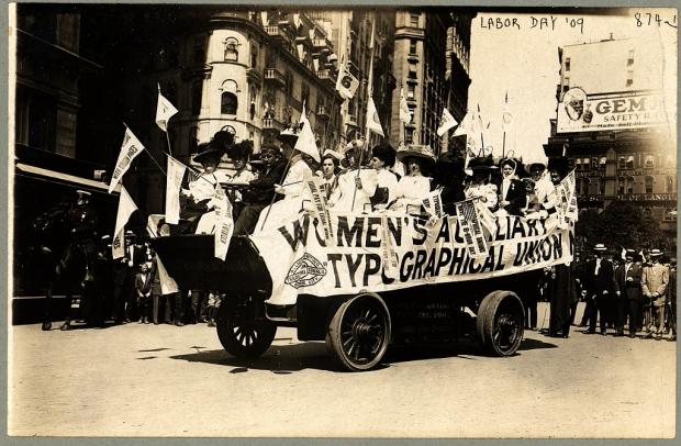 An Originaly Labor Day Parade Float for Women Workers - Remke Blog