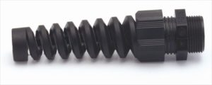 Spiral Flex Extended Cable Glands for greater support and arc of bend. Remke Blog