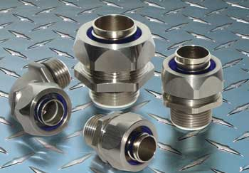 Remke liquidtight connectors and conduit fittings reduce corrosion in harsh industrail environments.