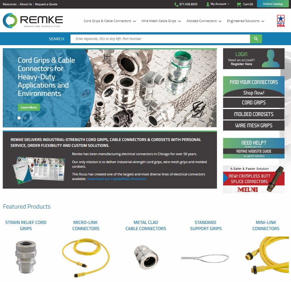 Remke website new home page - Remke Blog