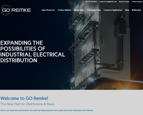 GO Remke website for electrical distributors and sales reps - Remke Blog