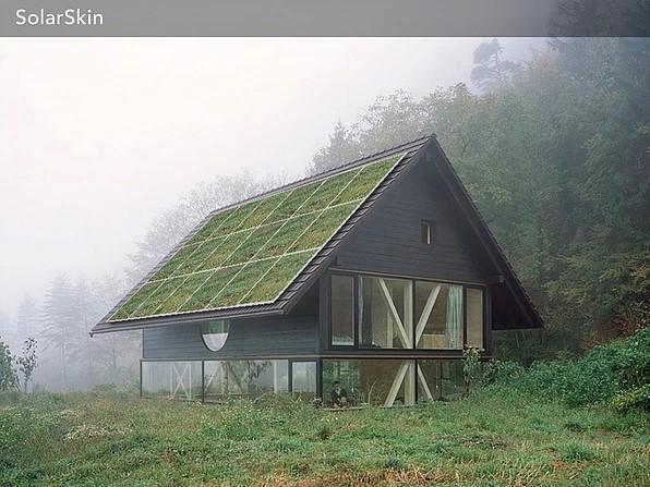 SolarSkin House Innovations in Solar Renewable Energy