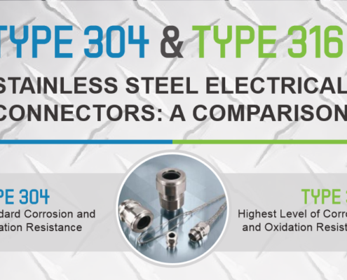 A Comparison of Type 304 & 316 Stainless Steel Electrical Connectors from Remke - Blog.Remke.com