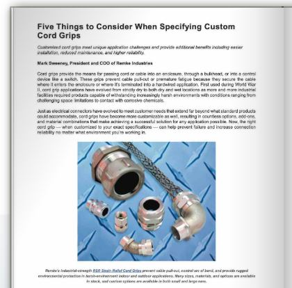 Remke Article Featured in Connector Supplier eBook - Blog.Remke.com
