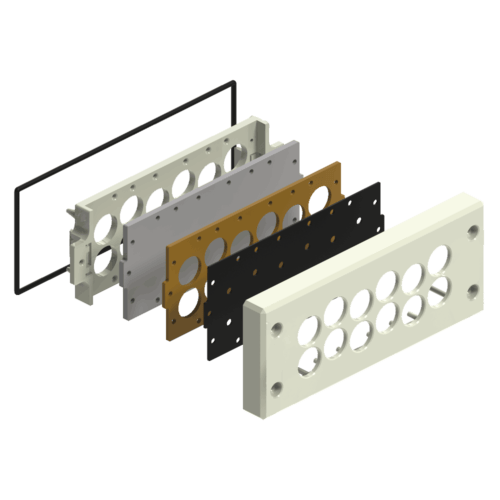 Remke Cable Entry Expanaded View of Panel Interface.