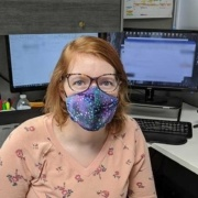 Another one of our Remke Heroes. Katie T. - Master Mask Maker